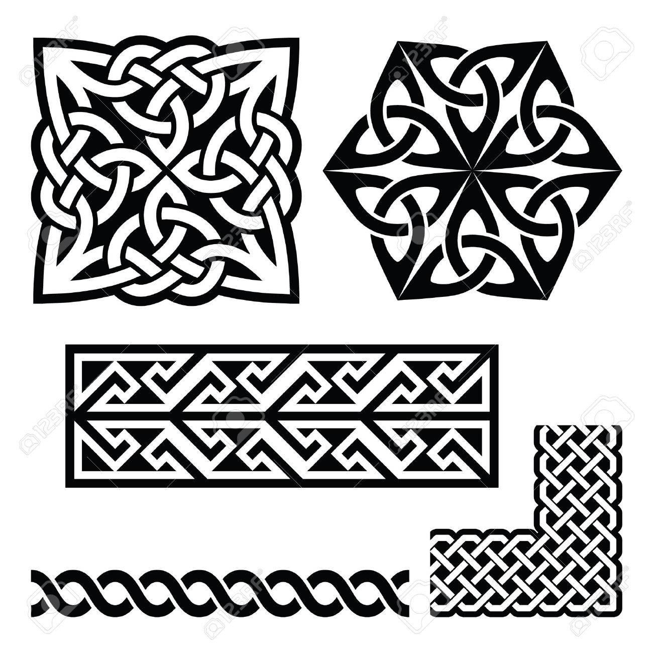 Rot Und Marine Schottischen Muster Textur