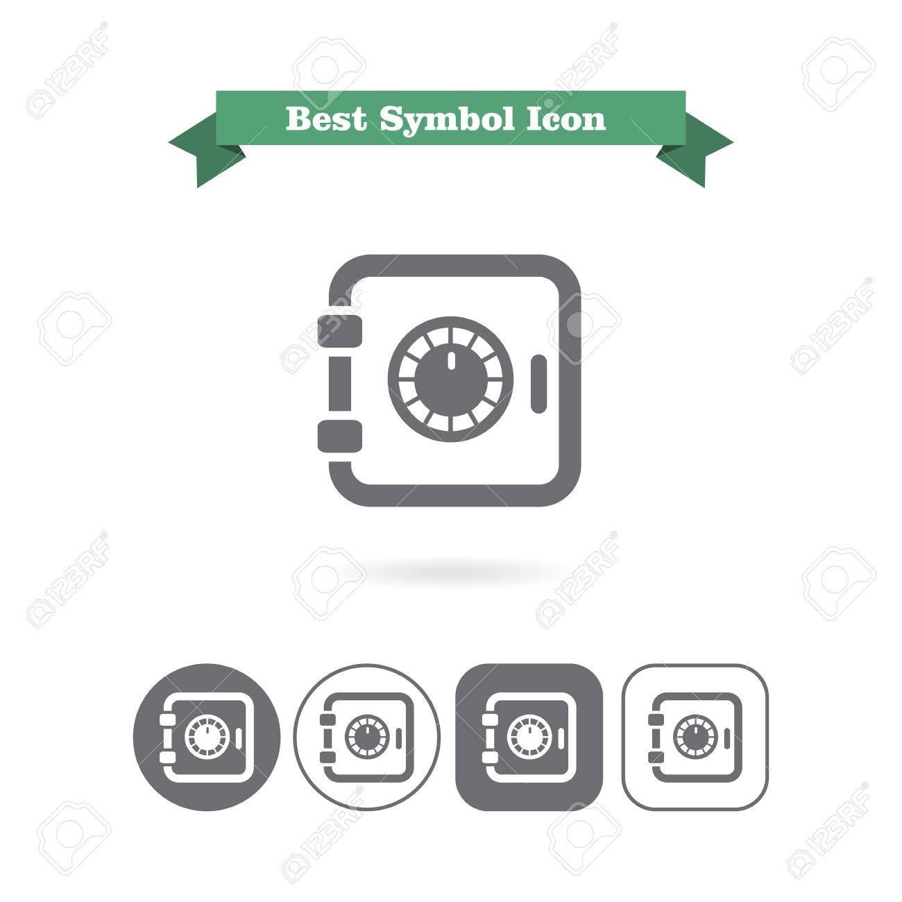 セーフ ボックス アイコンのイラスト素材ベクタ Image 41573415
