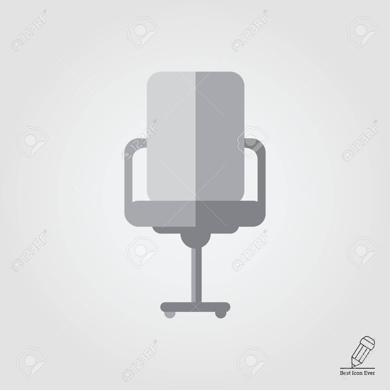 De Chaise Icône De Icône Icône BureauVue BureauVue Face De Chaise Face zLqVSpGMU
