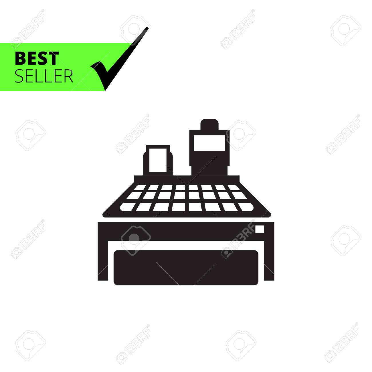 Cash register icon - 54082946
