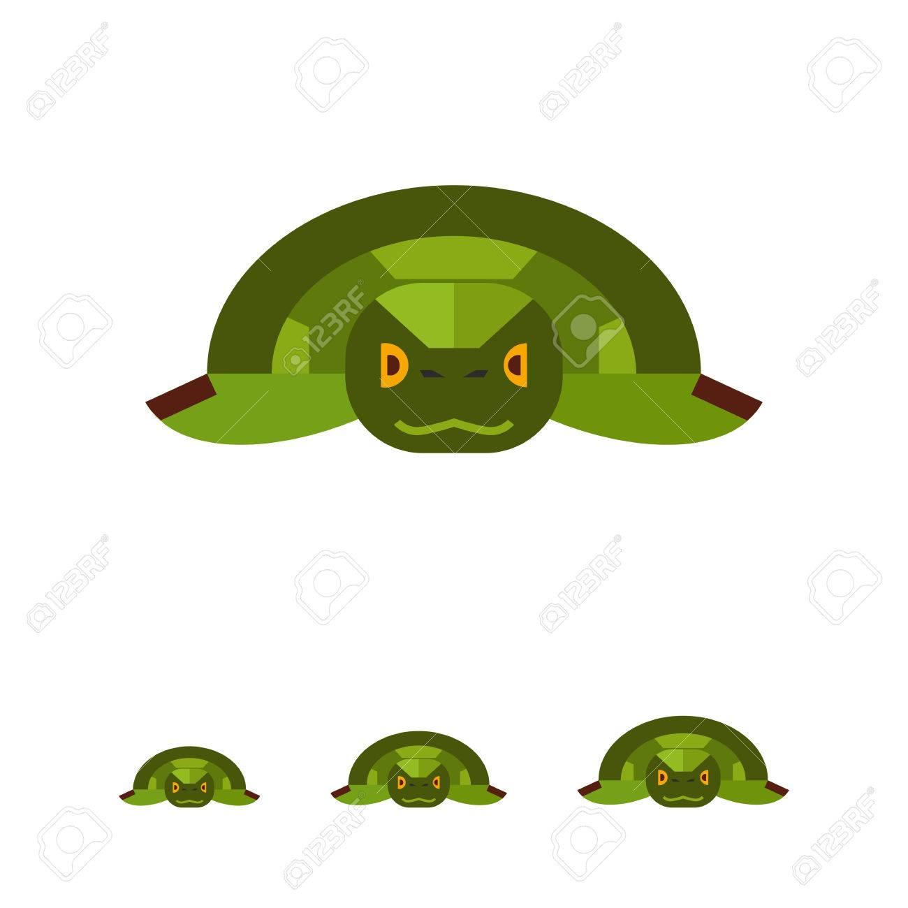 Image Of Japanese Symbolic Animal Green Sea Turtle Royalty Free