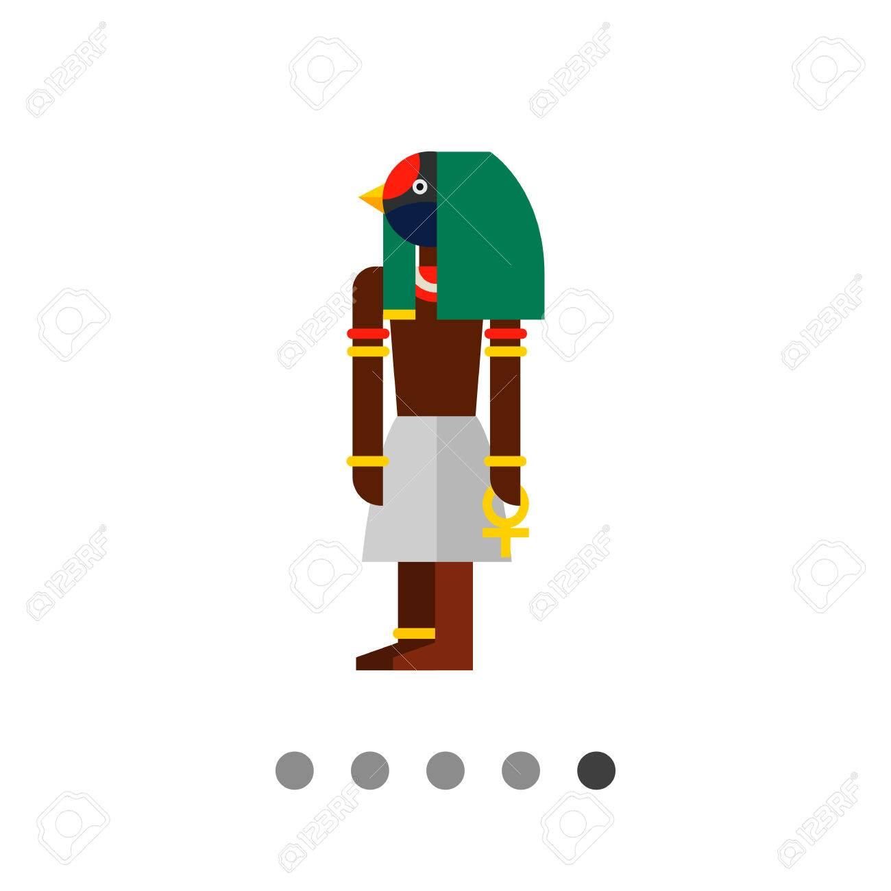 Multicolored vector icon of ancient egyptian god thoth royalty multicolored vector icon of ancient egyptian god thoth stock vector 65145456 biocorpaavc Gallery