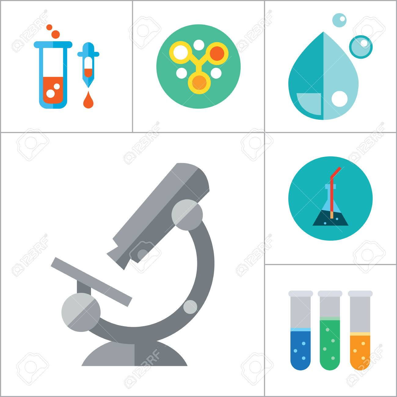 Science icons set with microscope test tubes and lab rat thirteen science icons set with microscope test tubes and lab rat thirteen vector icons stock ccuart Images