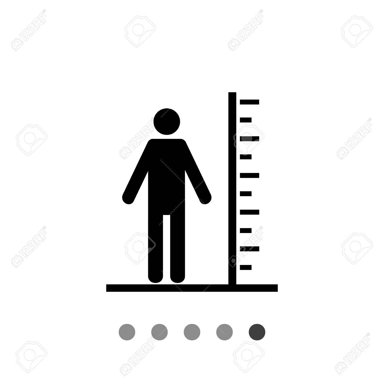 Tall man with scale tall man concept big ability strength tall man with scale tall man concept big ability strength can biocorpaavc