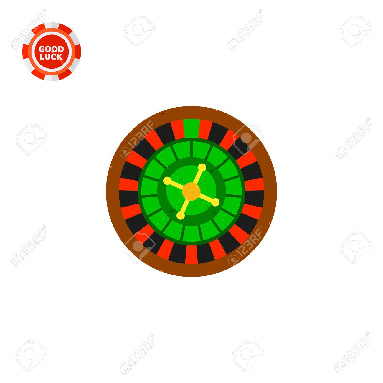 Casino Roulette Wheel Club Luck Betting Casino Concept Can Royalty Free Cliparts Vectors And Stock Illustration Image 63700188