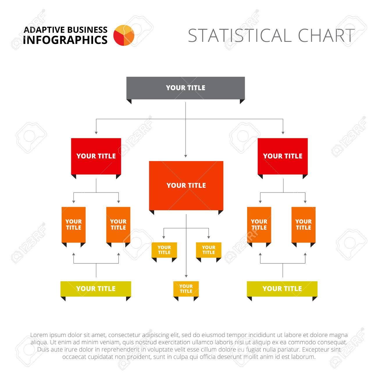 flowchart slide template. business data. graph, diagram, design