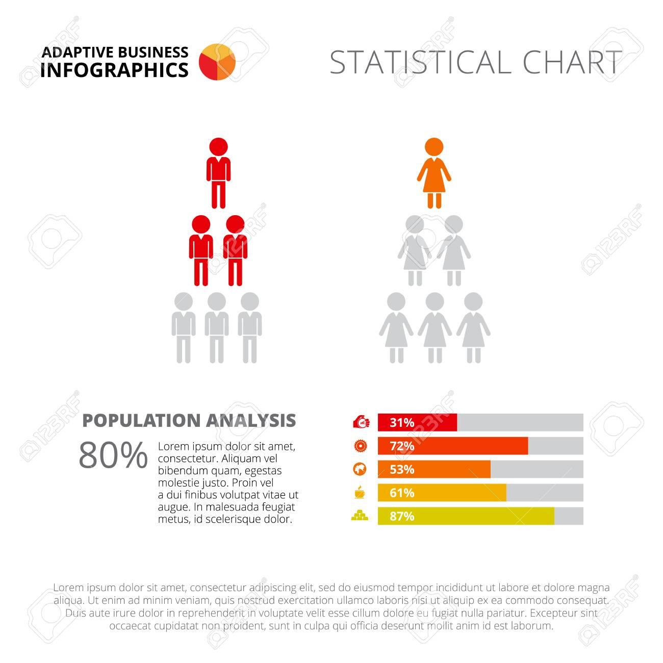 bar chart slide template business data graph diagram design