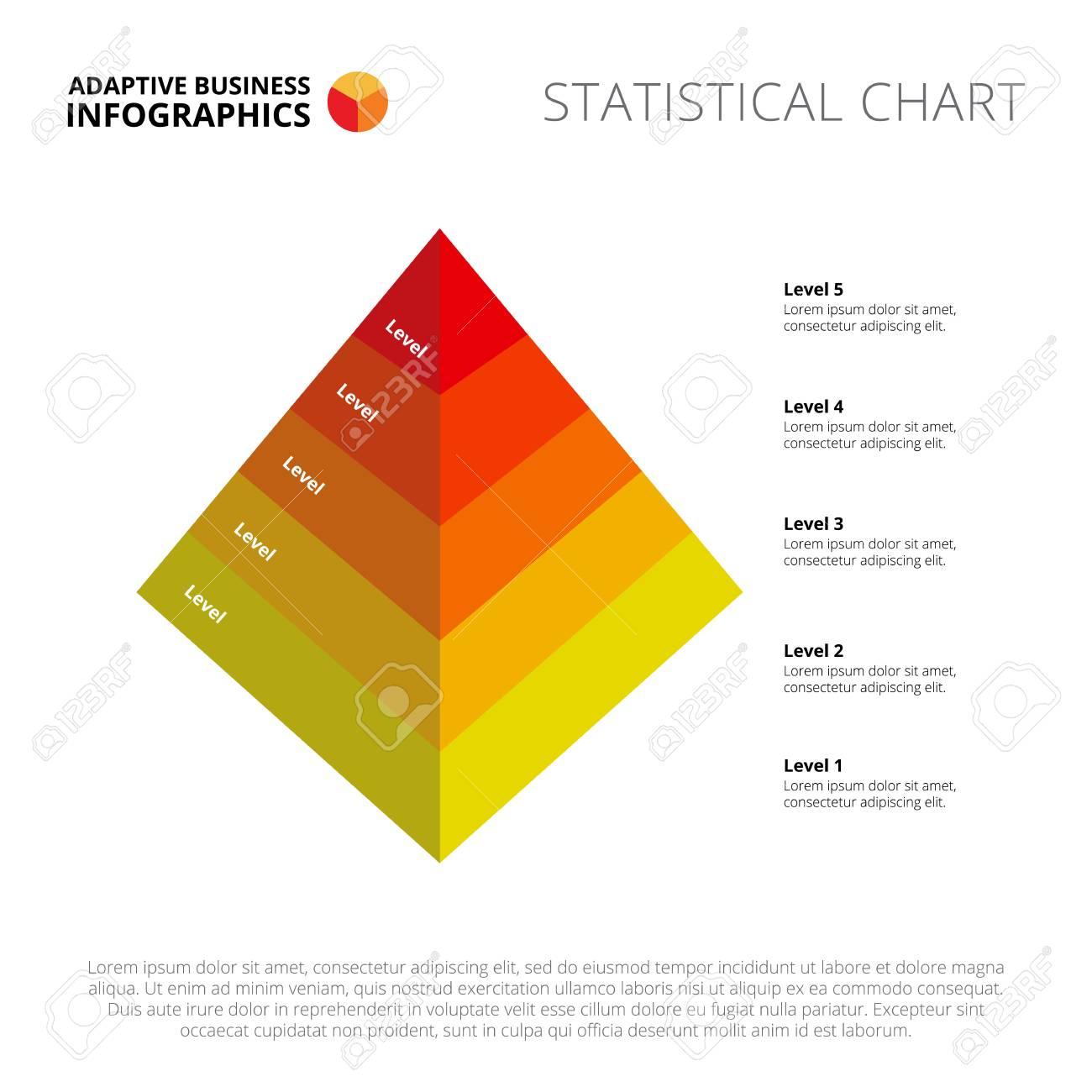 Plantilla De Diapositiva De Gráfico De Proceso. Datos Comerciales ...