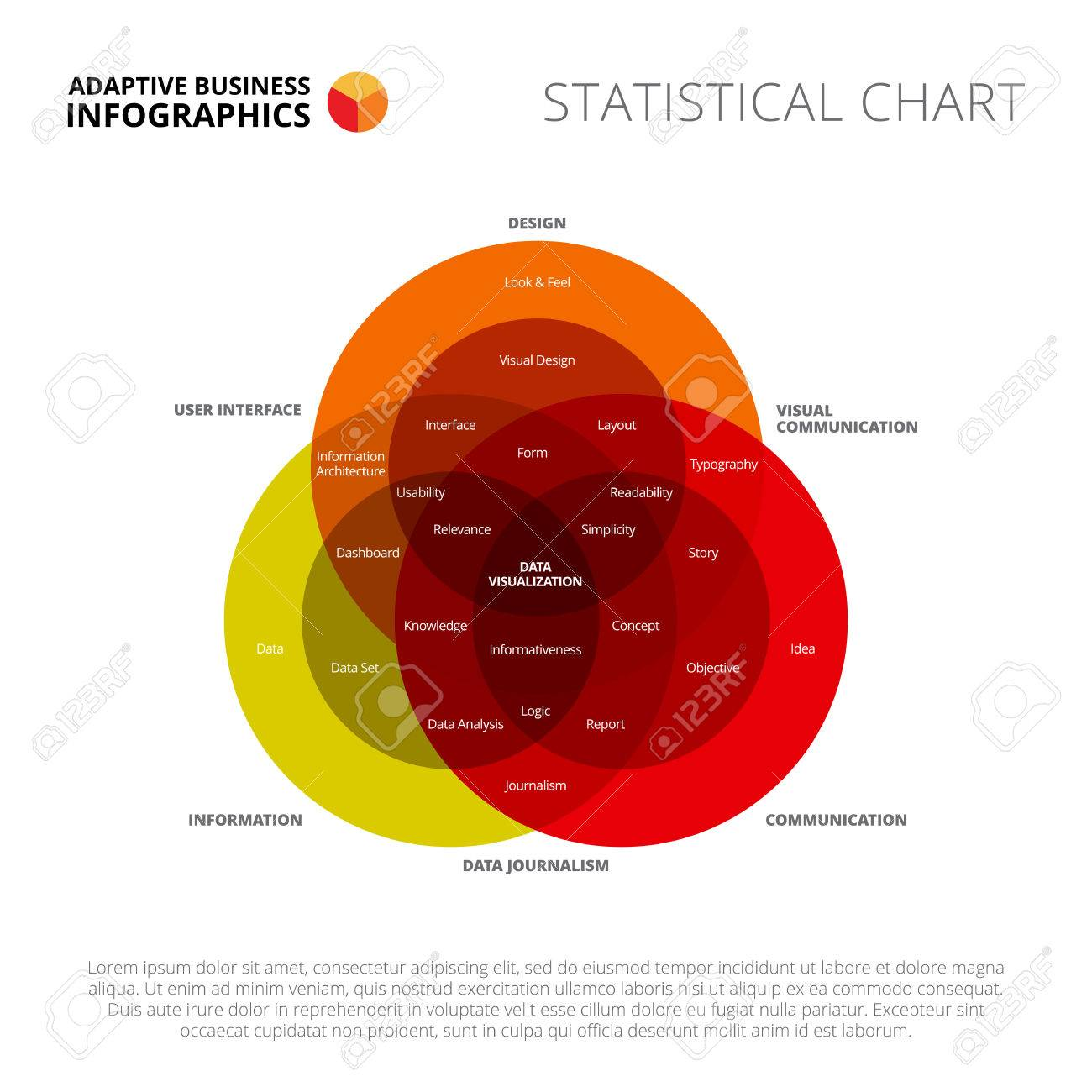 Venn diagram slide template business data graph chart design creative concept for infographic templates presentation report can be used for topics like analysis planning research venn diagram ccuart Choice Image