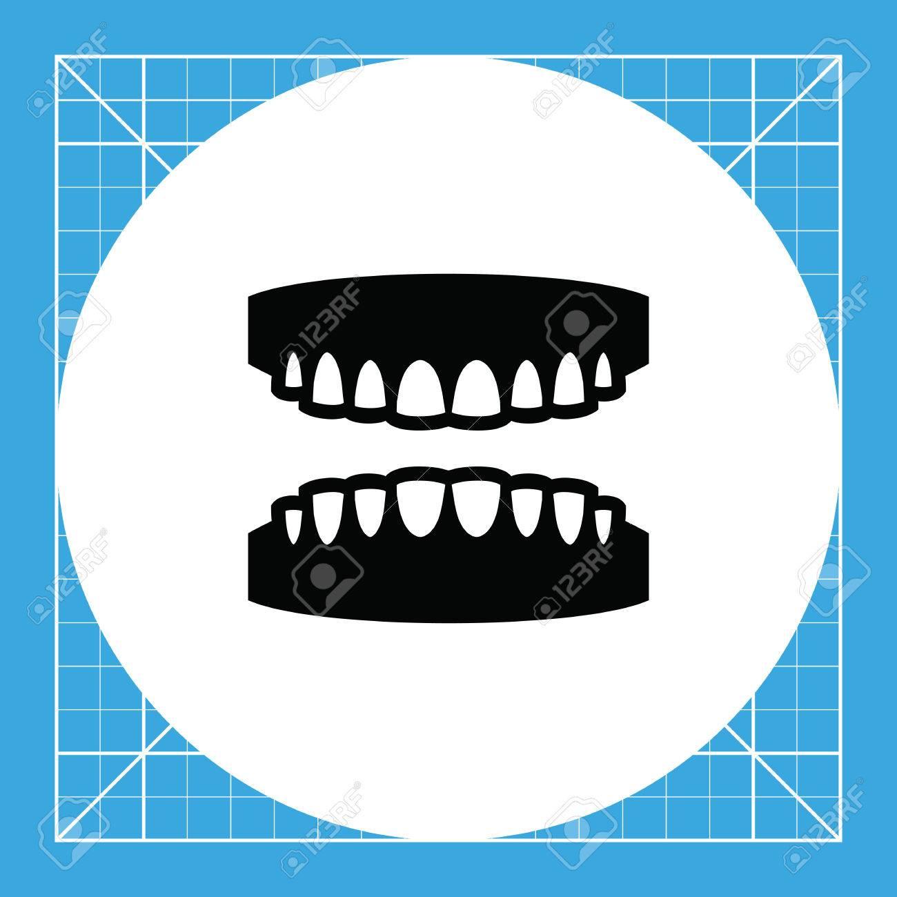 Gums Mit Den Zähnen. Mund, Zahnmedizin, Pflege. Zähne-Konzept. Kann ...