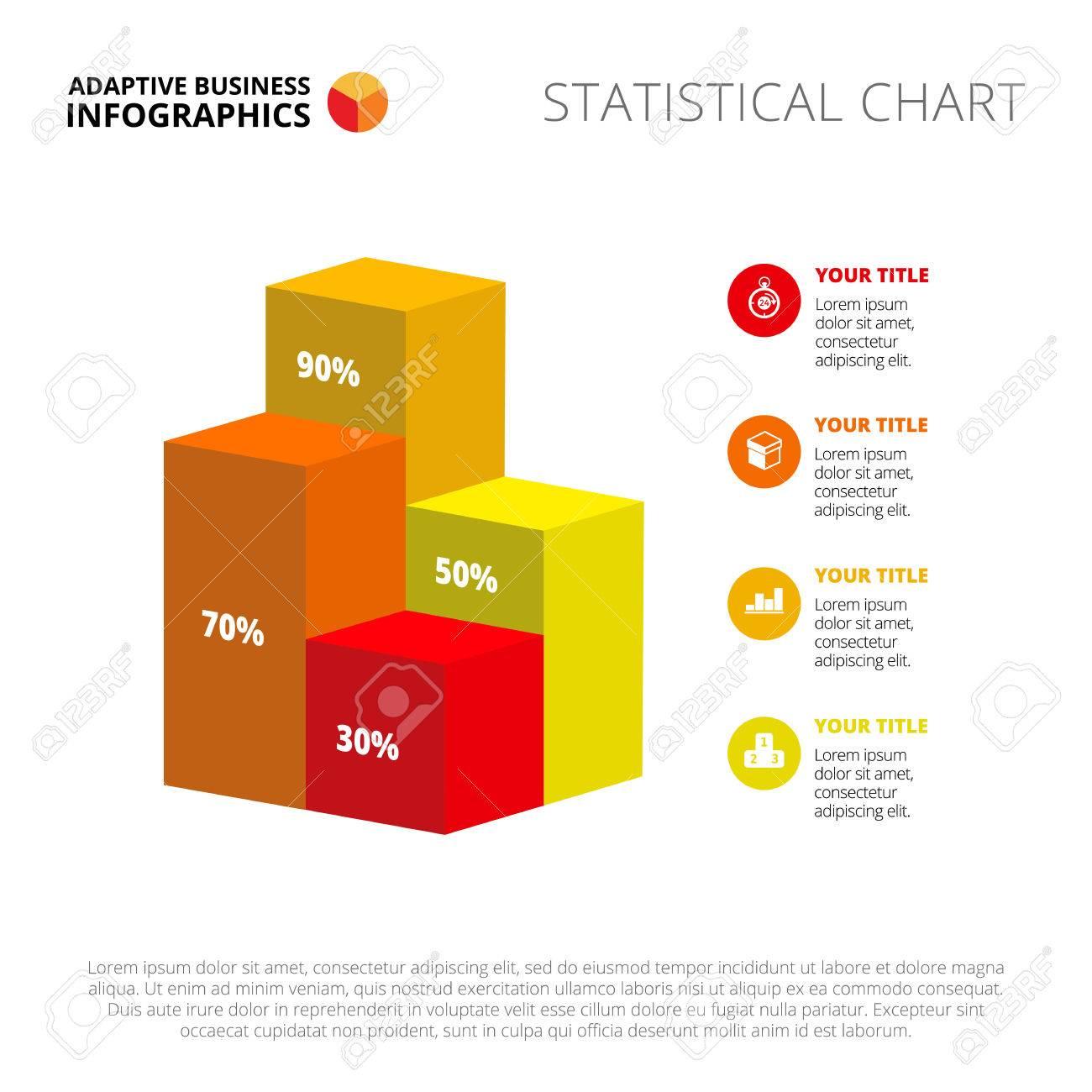 Bar Chart Slide Template. Business Data. Graph, Diagram, Design ...