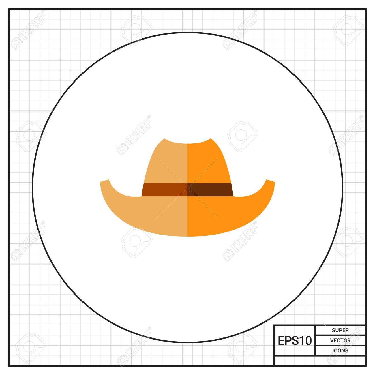 Cowboy Hat. Old 7a637d93a2d