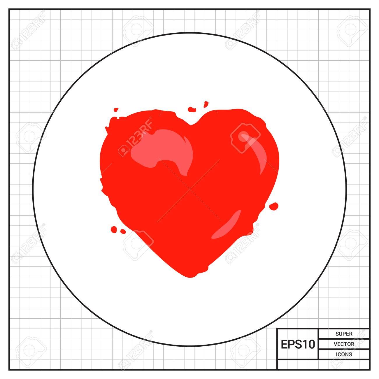 Ilustración Del Corazón. órgano Interno, La Vida, La Atención ...
