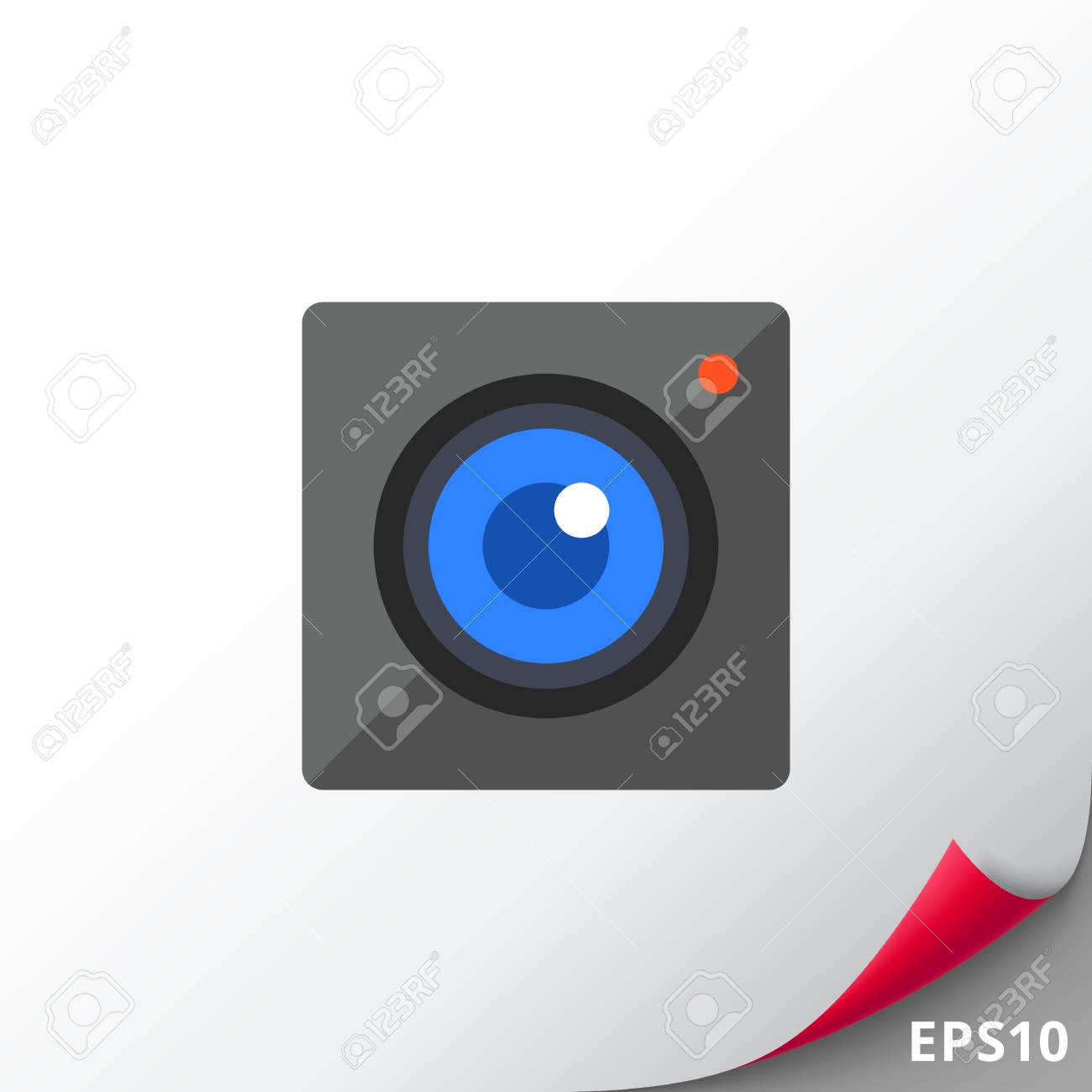 Icon of camera  Instagram icon  Social networking, shooting,