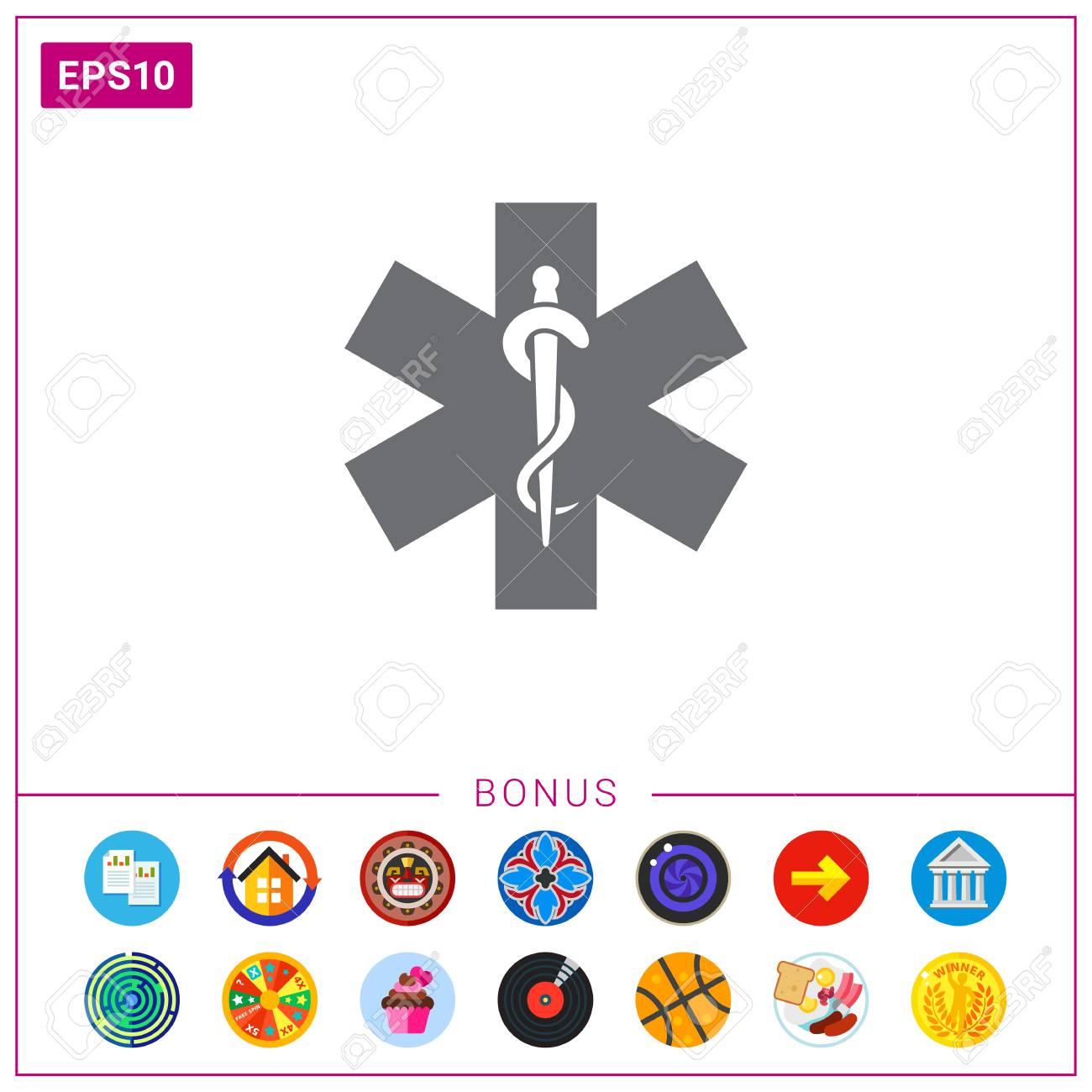 Medical Emergency Symbol Royalty Free Cliparts Vectors And Stock