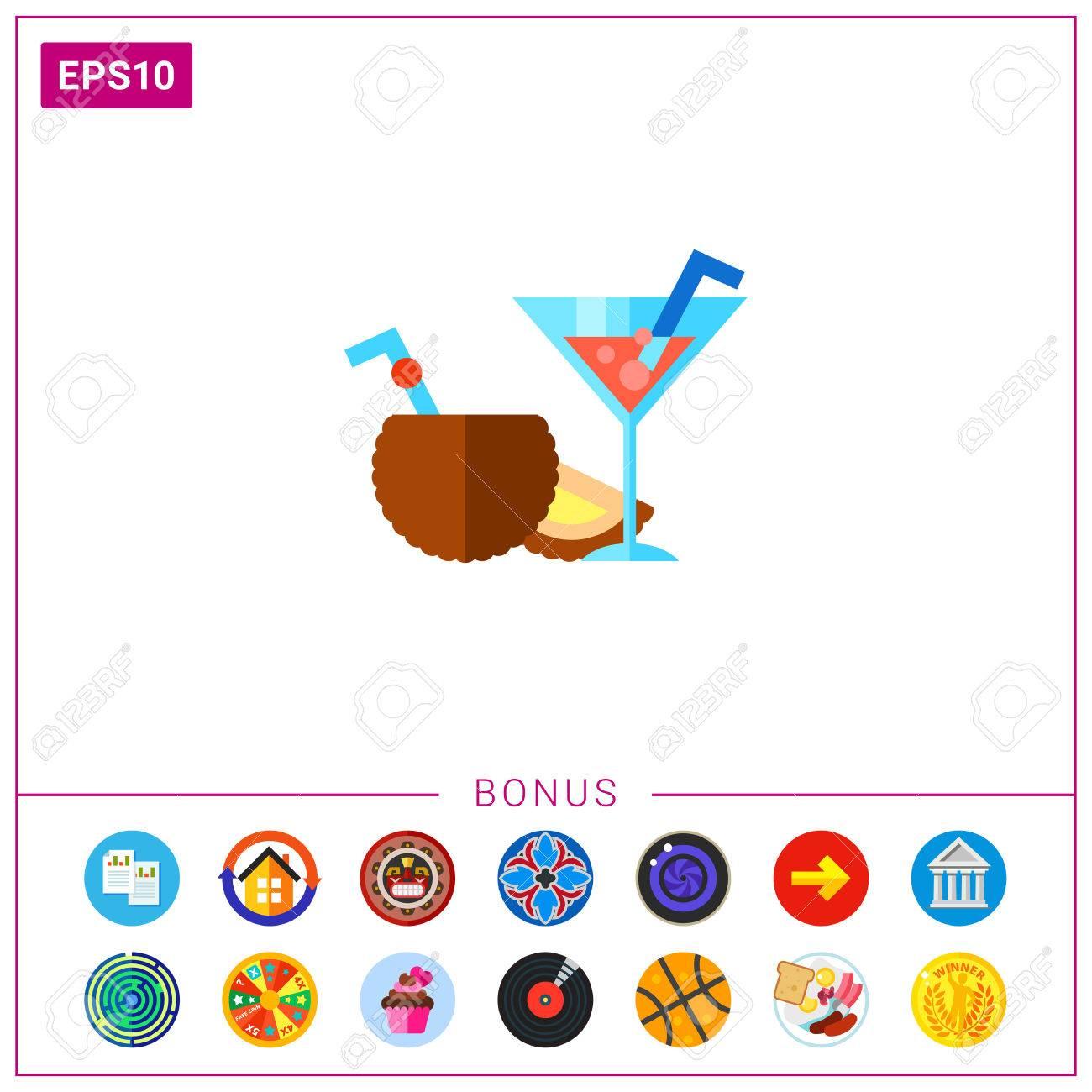 Attractive Beliebte Cocktails Ideas Of Cocktails. Frisch, Cool, Lecker. Sommer-drink-konzept. Kann
