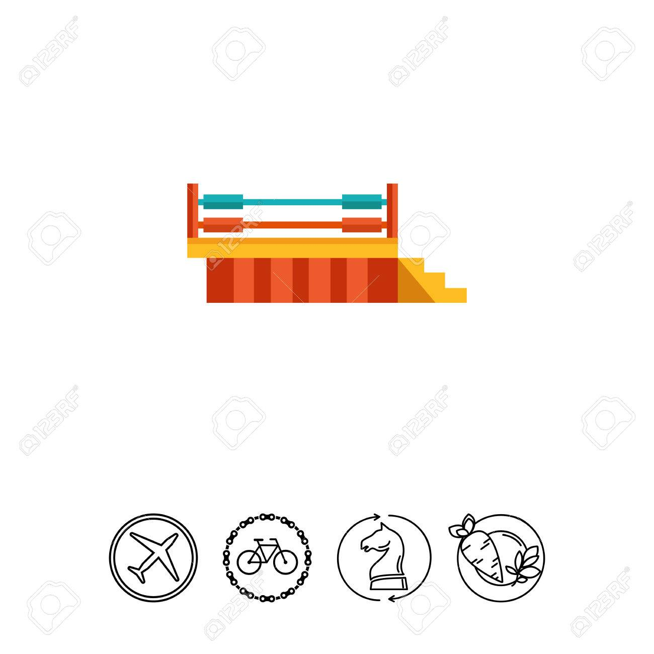 Boxing ring icon royalty free cliparts vectors and stock boxing ring icon stock vector 77706840 ccuart Images