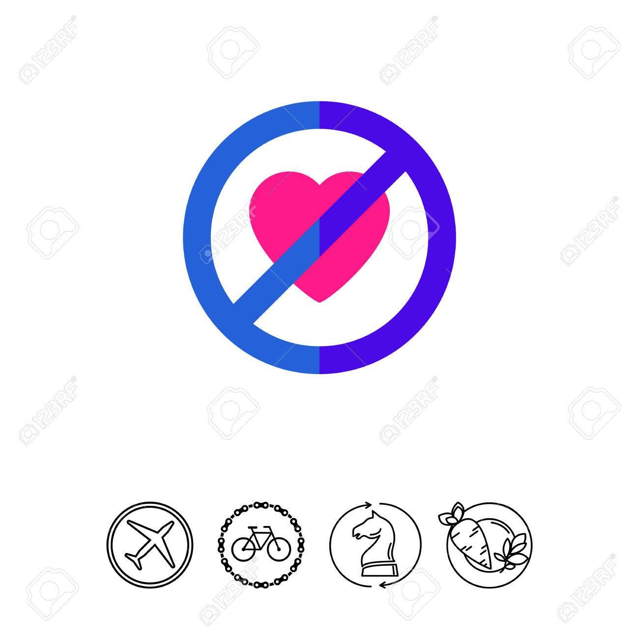 No heart sign feeling warning forbidden no heart concept feeling warning forbidden no heart concept can be buycottarizona