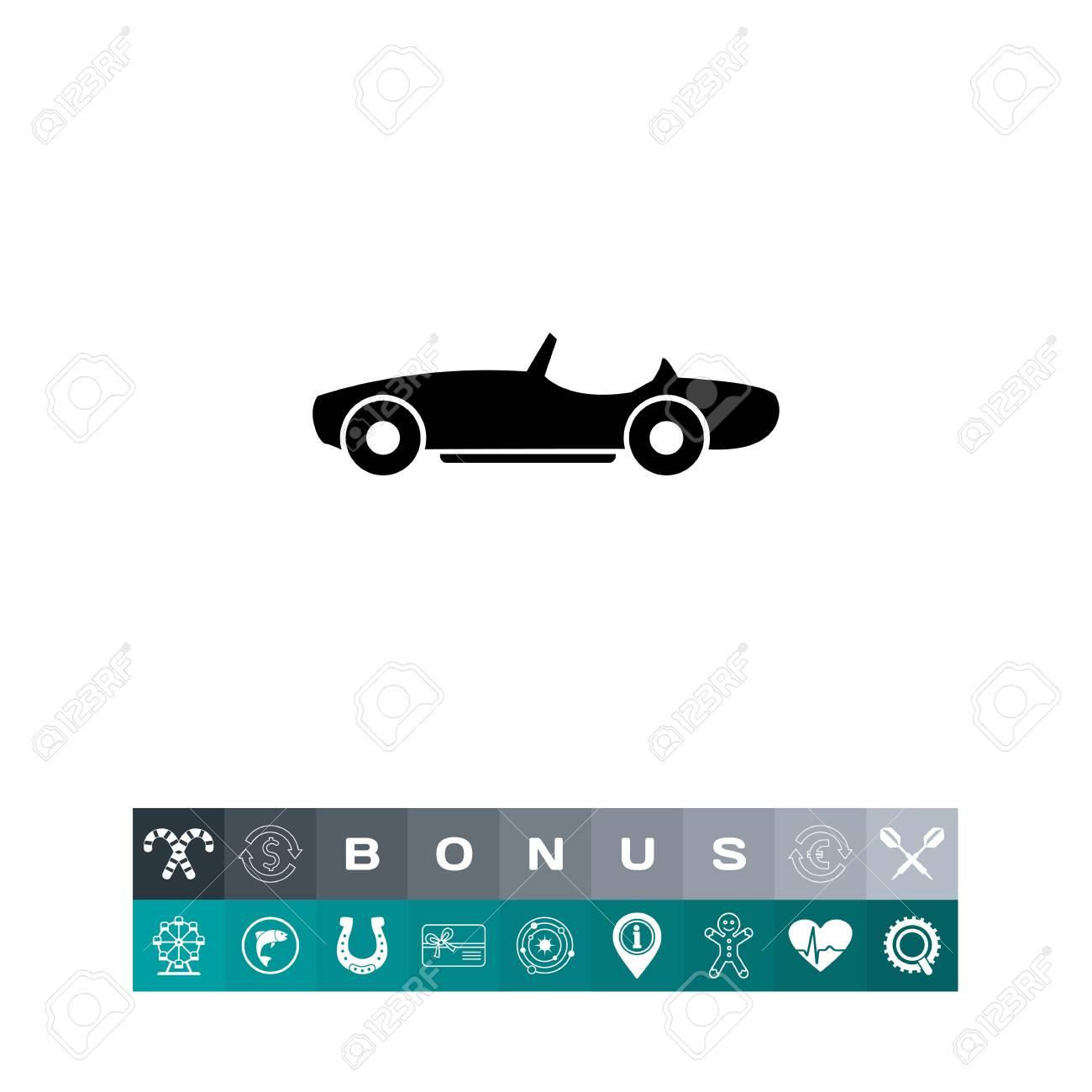 Voiture Sans Toit Ete Transport Luxe Concept D Automobile Peut Etre Utilise Pour Des Sujets Comme La Technologie La Mode Le Transport