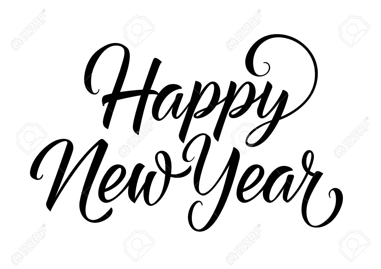 Happy New Year Lettering 5