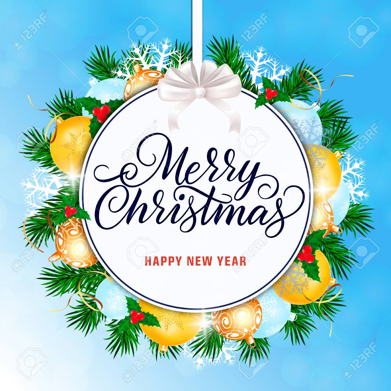 merry christmas and happy new year banner royalty free cliparts vectors and stock illustration image 91341175 merry christmas and happy new year banner