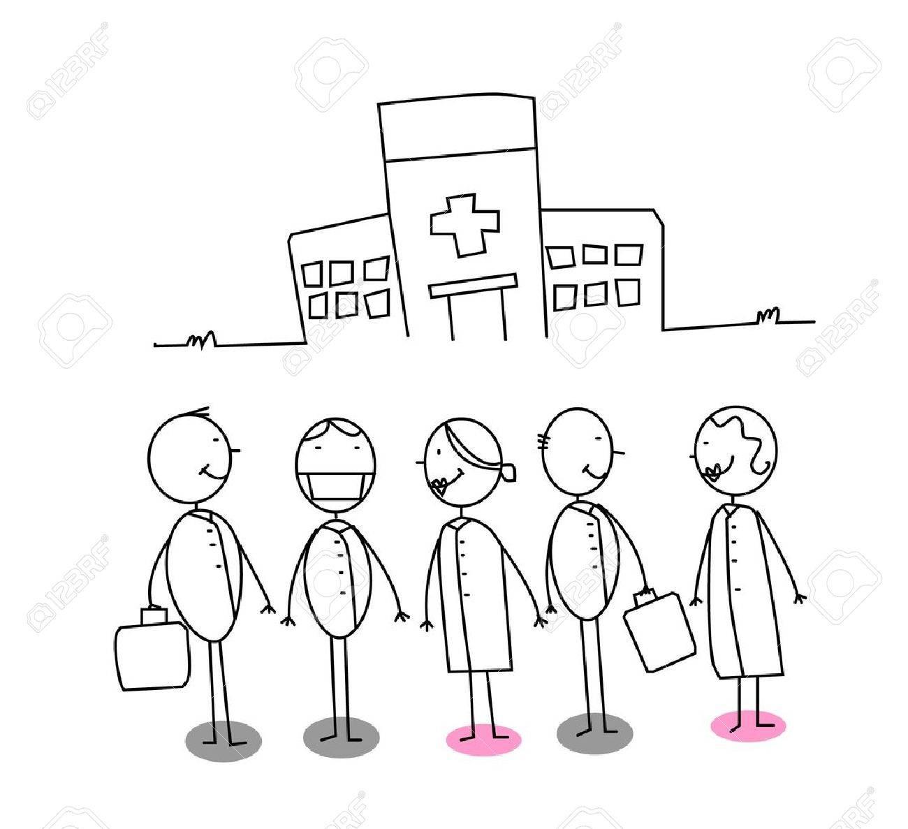 Hospital Stock Vector - 11122947