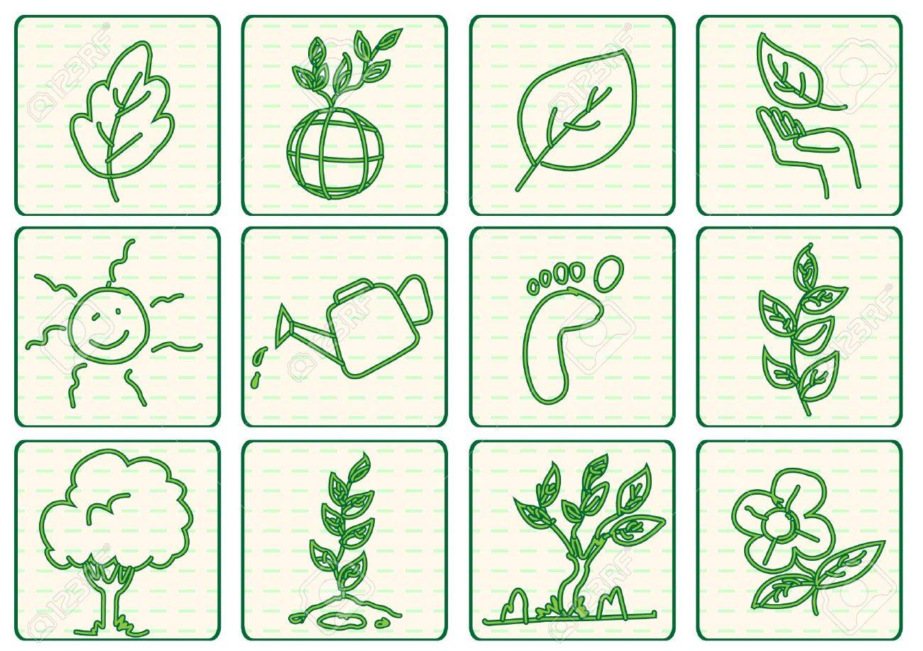 green ecology concept vector Stock Vector - 11169079