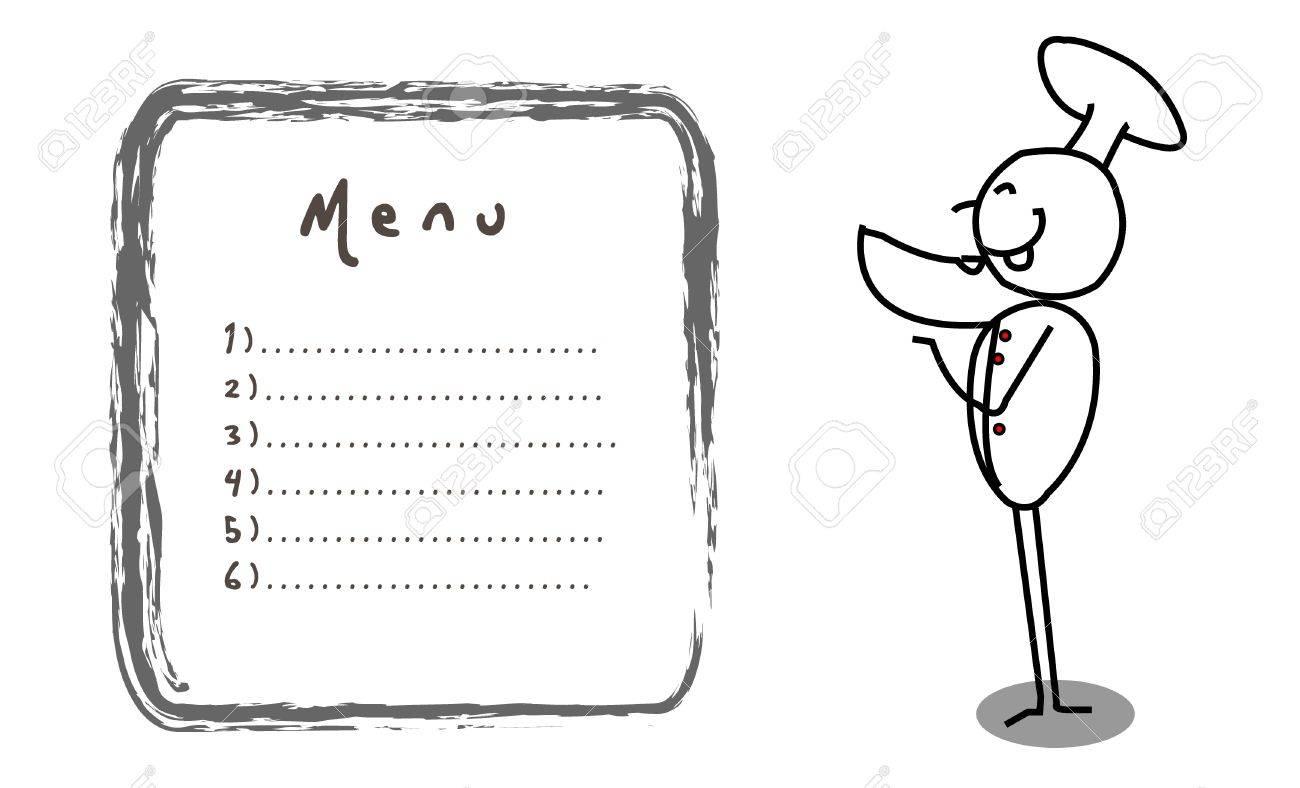 chef banner vector Stock Vector - 11815070