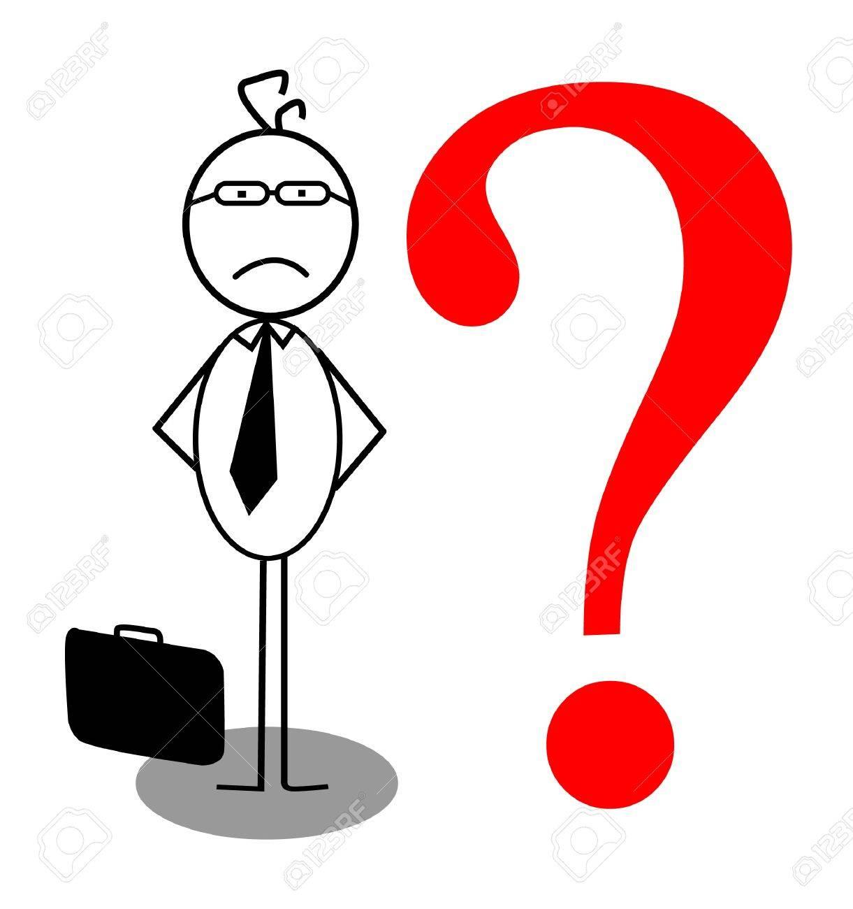 businessman problem Stock Vector - 13189382
