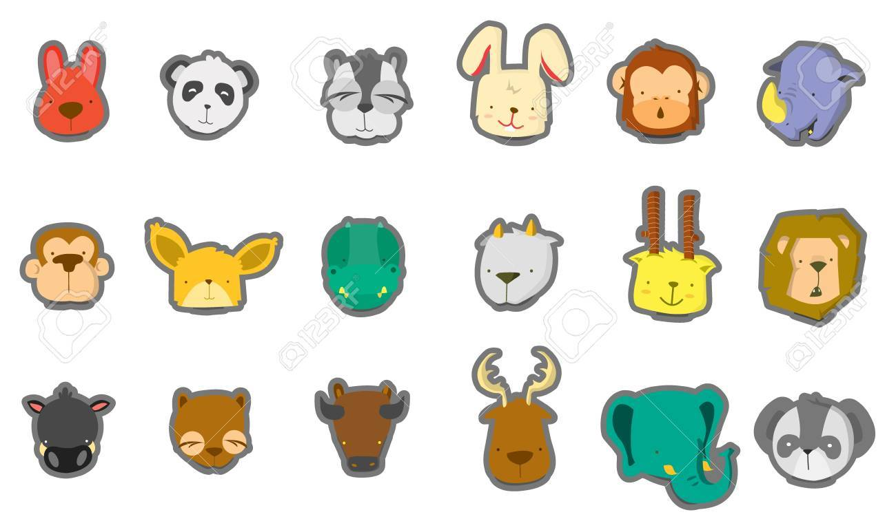 baby animal head royalty free cliparts vectors and stock