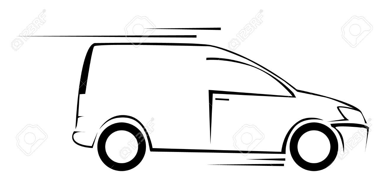van car symbol vector illustration royalty free cliparts vectors rh 123rf com car vector free car vector clipart