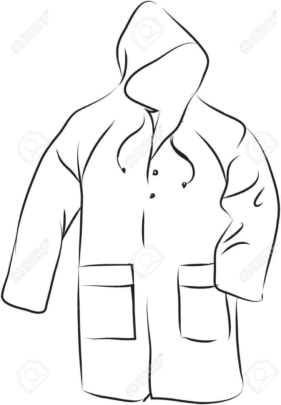 Rain Coat Royalty Free Cliparts Vectors And Stock Illustration