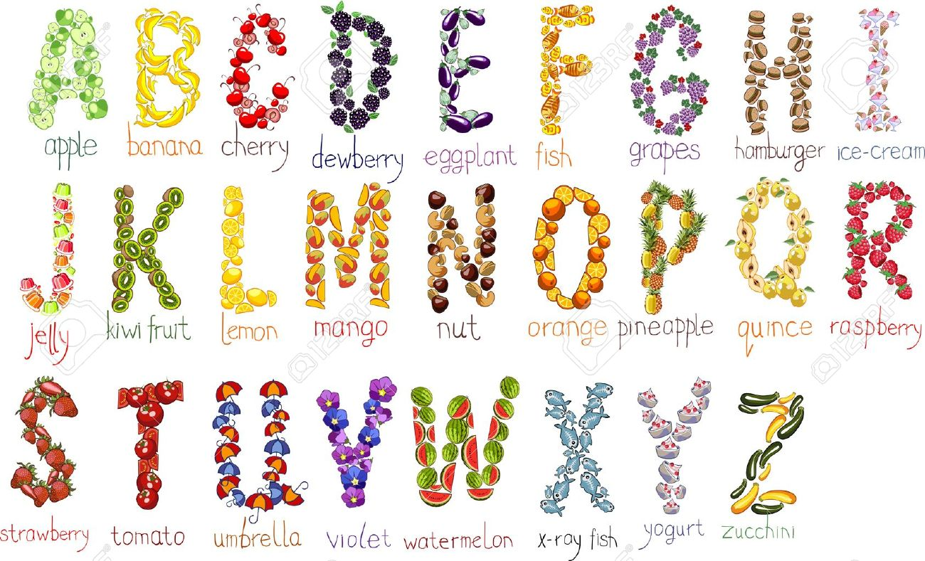 school alphabetical letters with handdrawn doodle font Stock Vector - 18730975