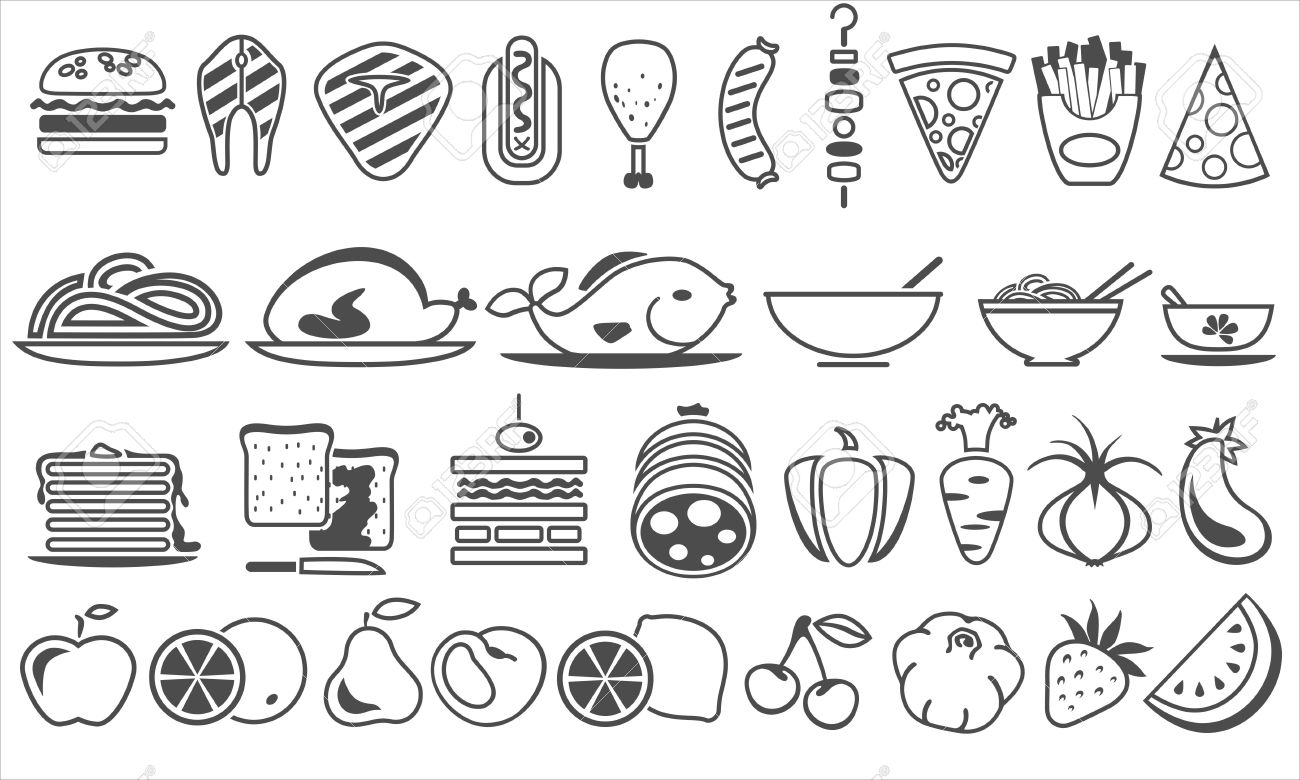 food vector icons royalty free cliparts vectors and stock rh 123rf com victor food store victor foods spokane