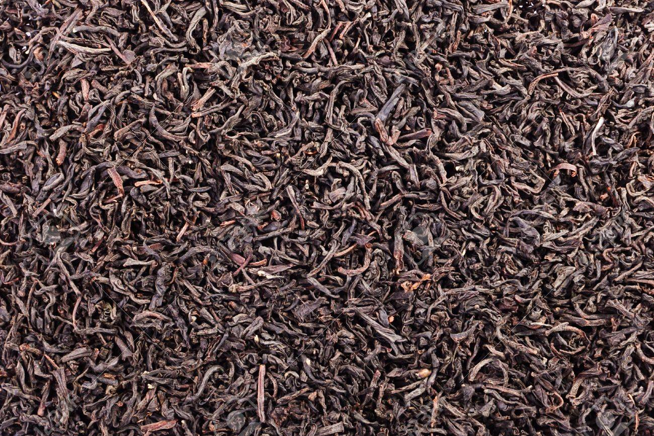 Black Tea Loose Dried Tea Leaves, Marco Stock Photo, Picture And ...