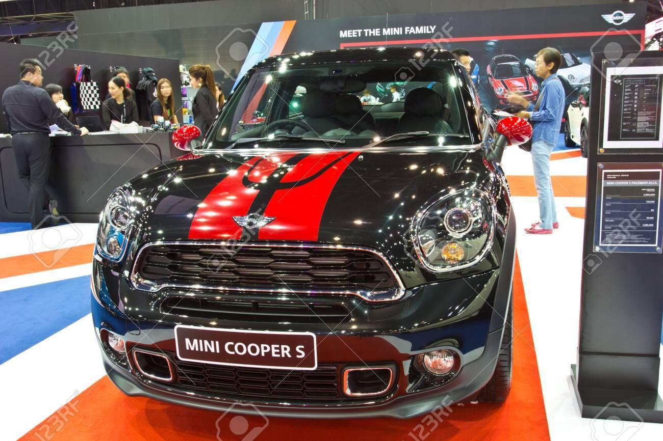 Mini Cooper Accessories 2013 >> Bangkok June 23 Mini Cooper S Show At The Second Bangkok