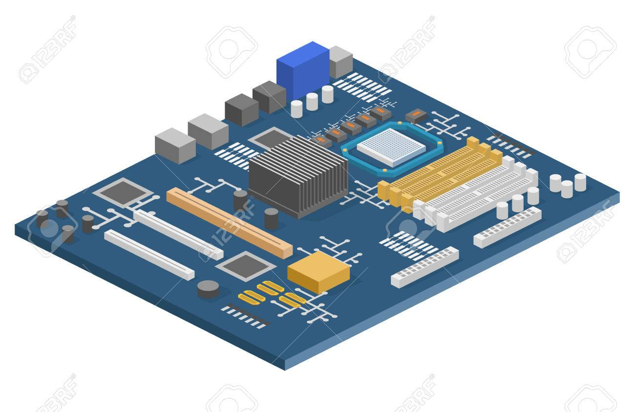 Diagram Of A Computer Chip Circuit - Electrical Work Wiring Diagram •