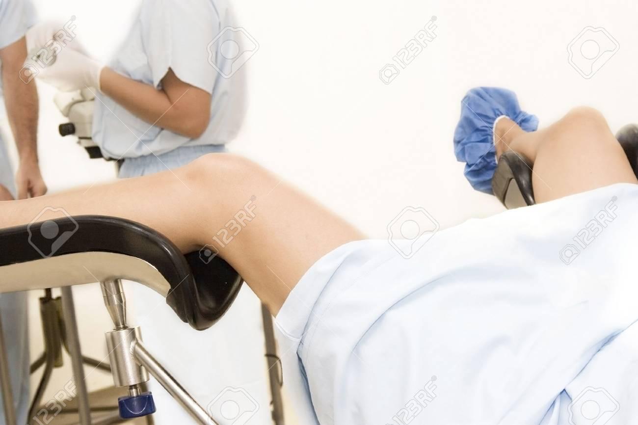 Examen Gynécologique à Lhôpital Banque Dimages Et Photos Libres De
