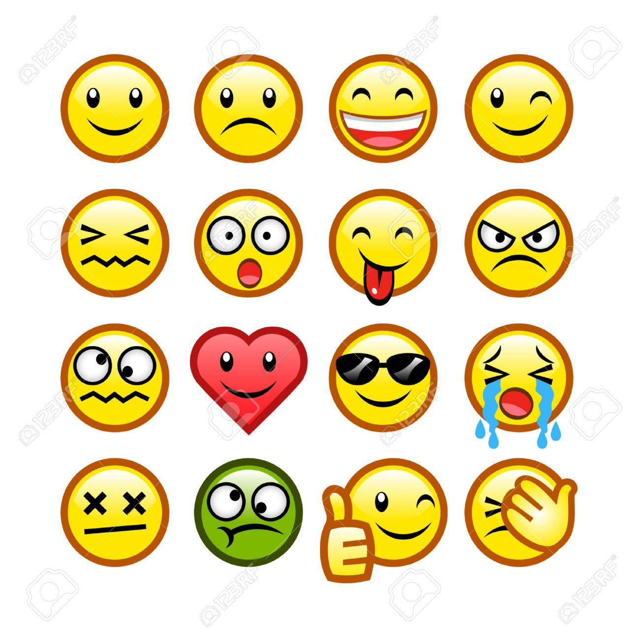 classic smileys - 29081651