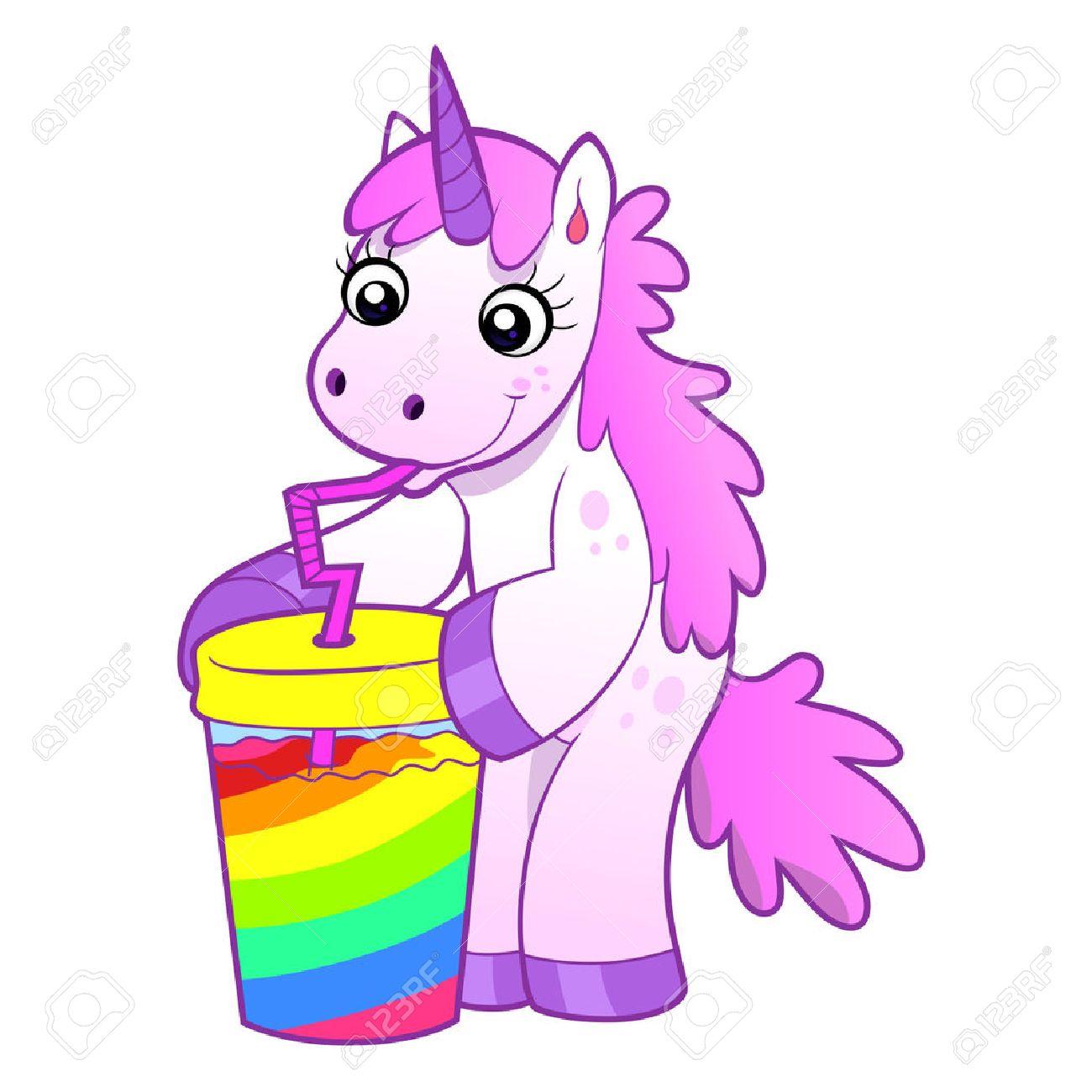 Dibujos De Unicornios Vomitando Arcoiris