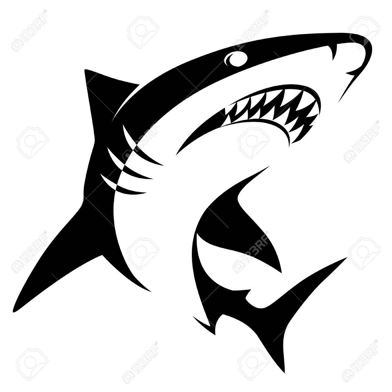Shark sign - 33733083