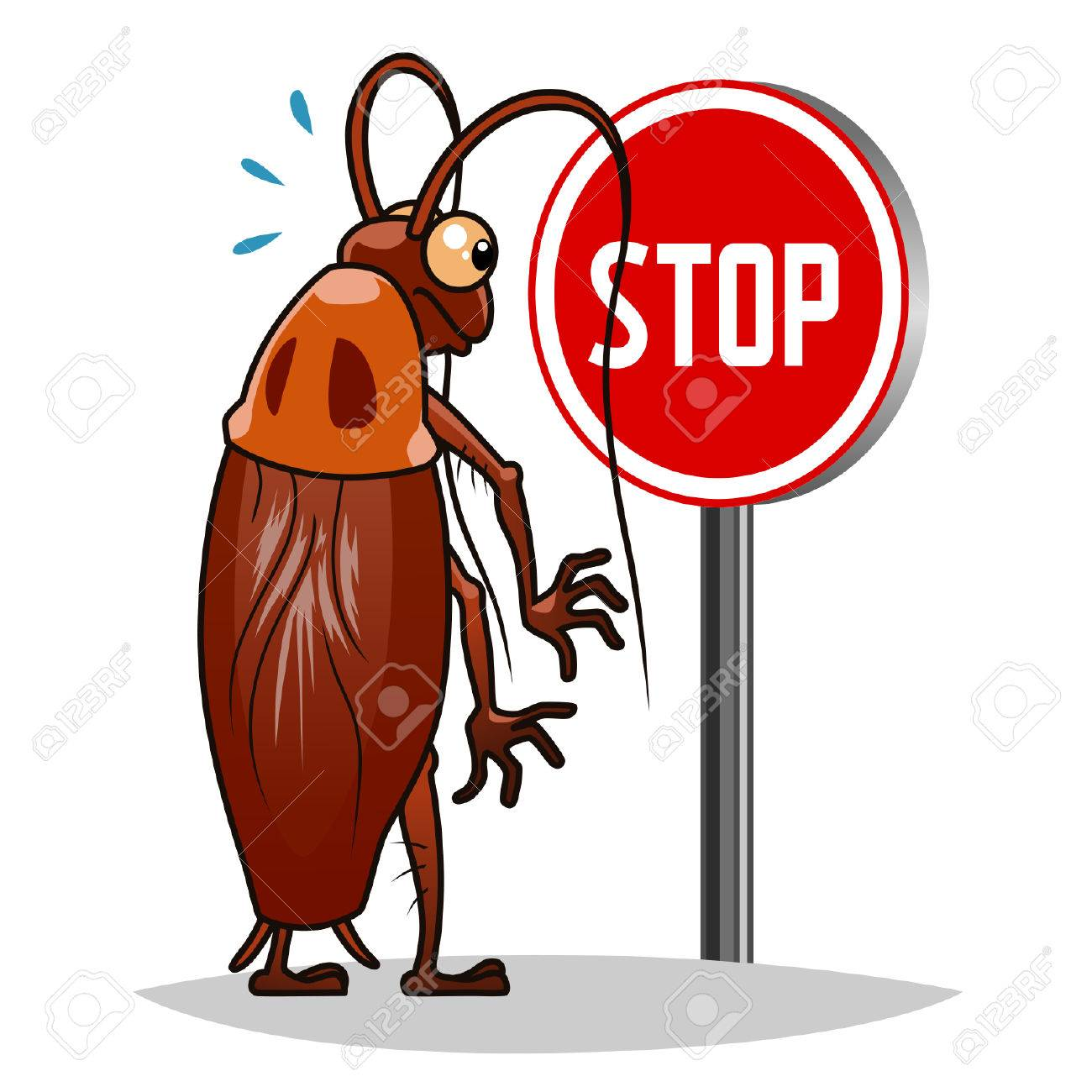 Stop cockroaches - 37696154