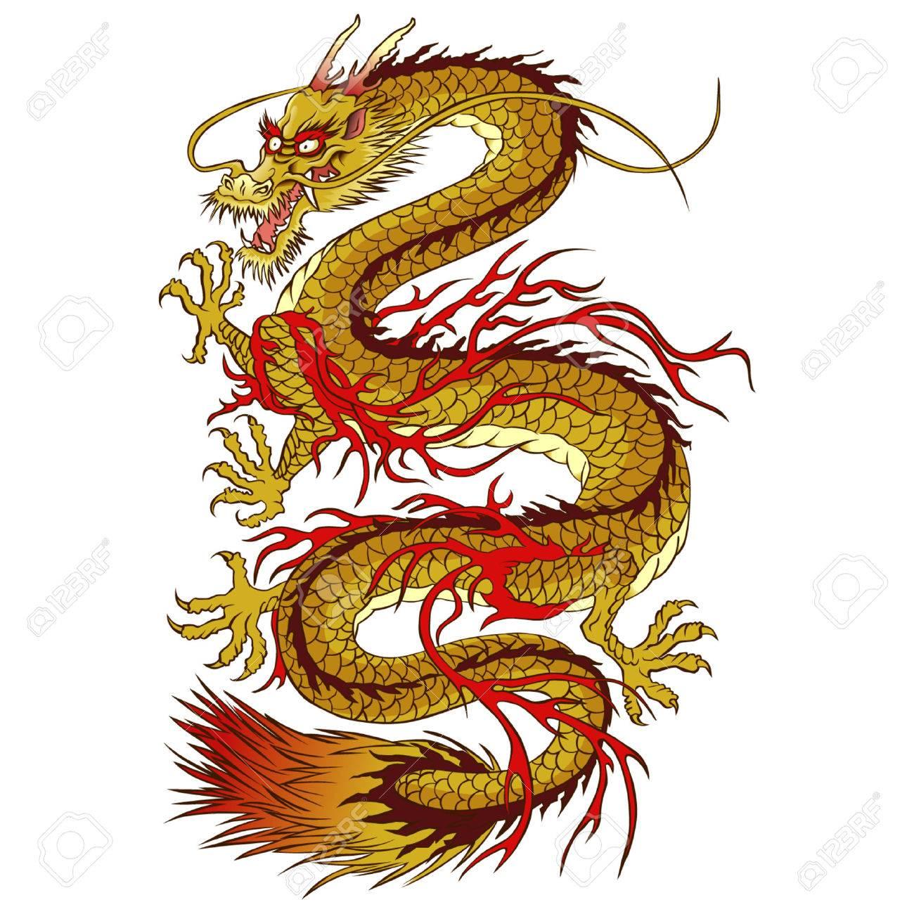 Golden dragon - 39342010