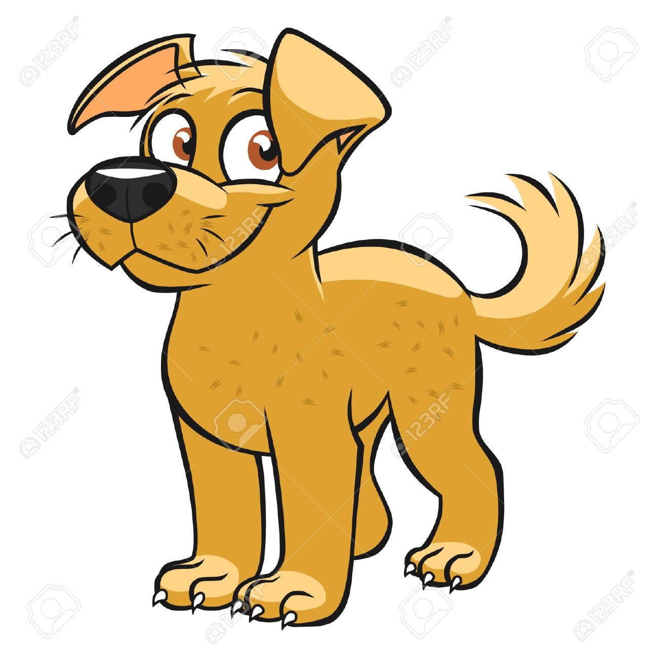Cute cartoon dog - 43622210