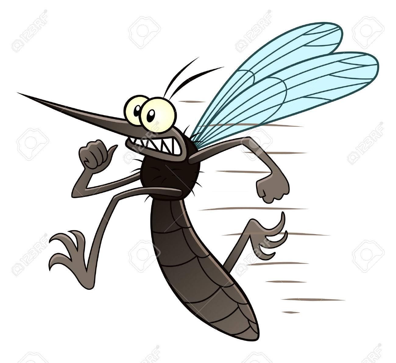 Running mosquito - 61670224