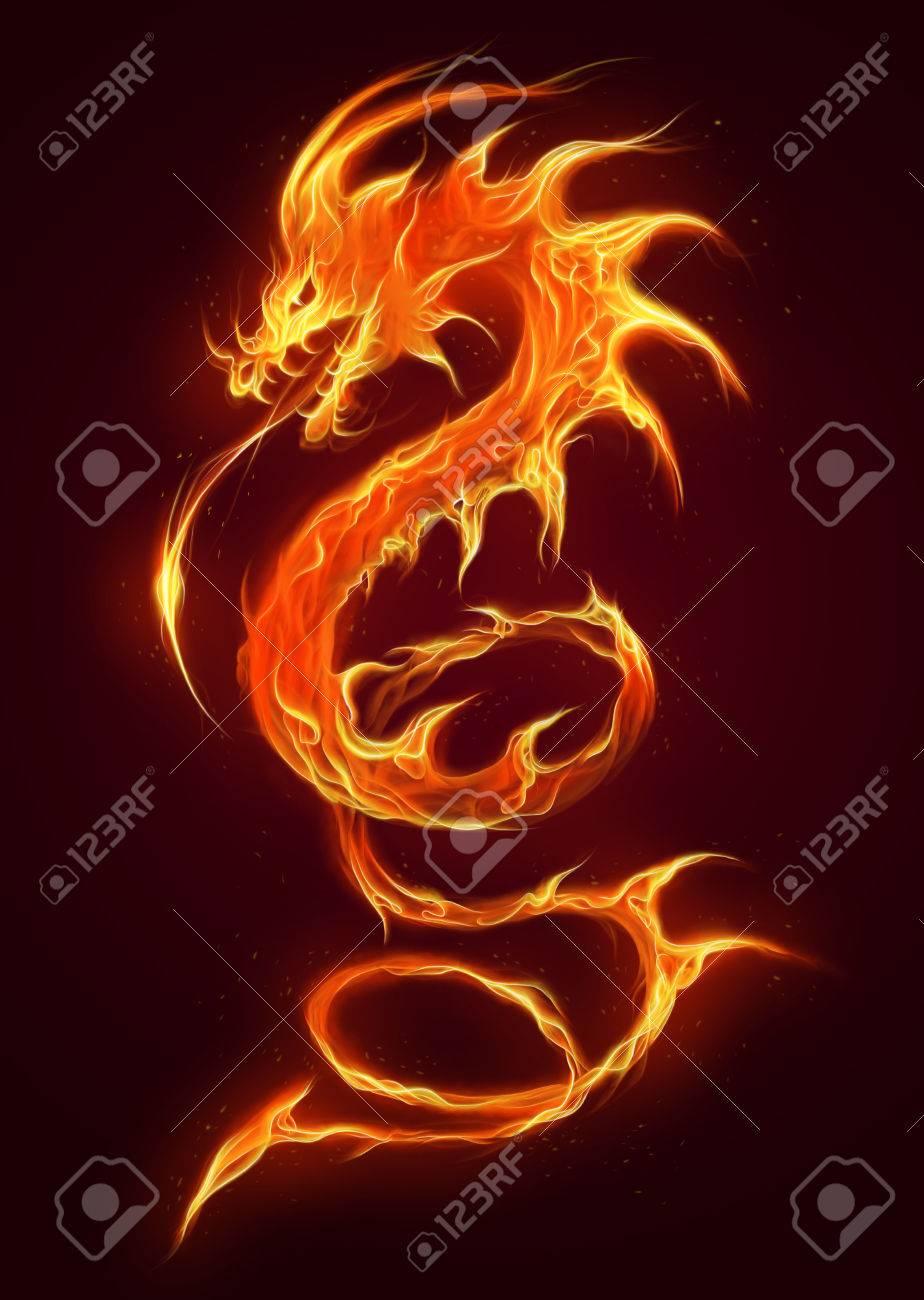 fire dragon - 65012701