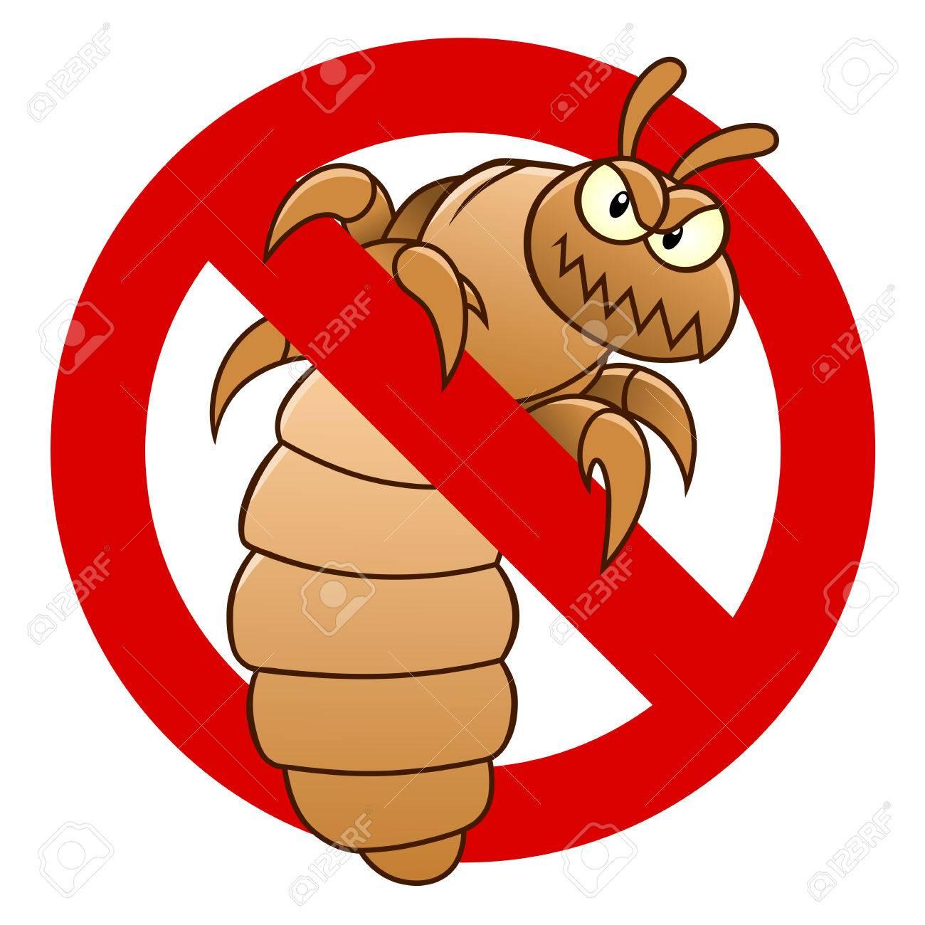 Anti louse sign - 73582329