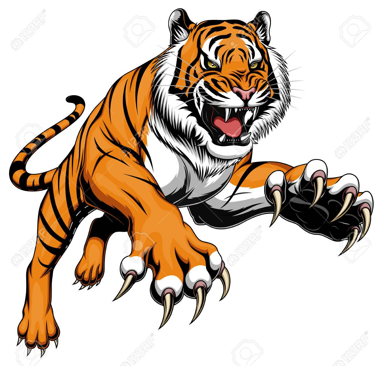 Leaping tiger - 80110141