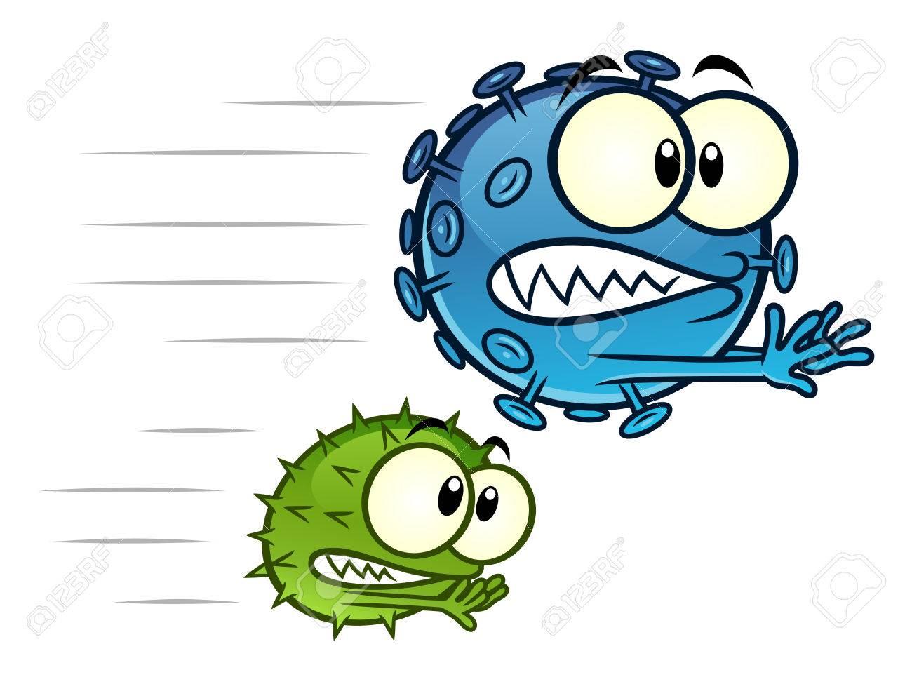 Viruses running away - 84356190