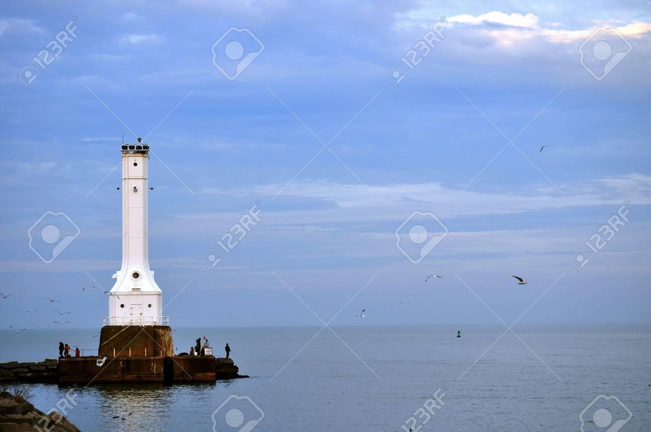 Lighthouse on Lake Erie - 15930061